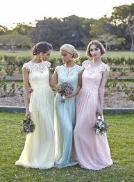 Bridesmaid Dresses Online Large Backside Deep Blue Dream Chiffon Princess Or Queen Maternal