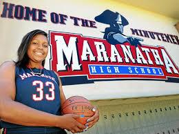 star news girls basketball all area maranatha u0027s channon fluker