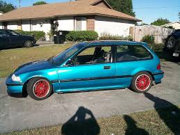 91 civic si hatch with a b18c engine swap 3000 obo
