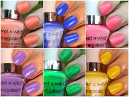 summer nail color trends 2014 wet n wild summer 2014 limited edition megalast nail colors be