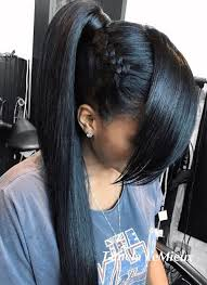 hair pony tail for african hair 30 classy black ponytail hairstyles