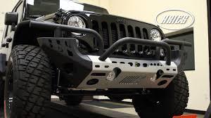jeep rubicon winch bumper aries jeep wrangler modular front bumper youtube