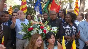 Biafra Flag Biafrans Cozy Up To The Catolonia Government Diplomatic Relations