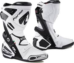 racing boots forma ice pro flow motorcycle racing boots white forma ice pro