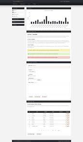 simpleadmin free admin panel template by kilab on deviantart