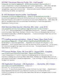 Ios Developer Resume Examples by Strange Copy Pasta In Developer Resumes Hung Truong The Blog