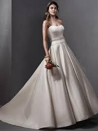 simple satin wedding dresses love maggie love maggie