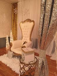 baby shower chairs winter baby shower party ideas photo 8 of 14 catch