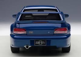 Amazon Com Subaru Impreza 22b Blue Upgraded Version 1 18 By
