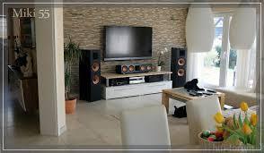 Beleuchtung Wohnzimmer Fernseher Haus Renovierung Mit Modernem Innenarchitektur Geräumiges