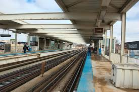 Chicago Brown Line Map by Western Station Cta Brown Line Wikipedia
