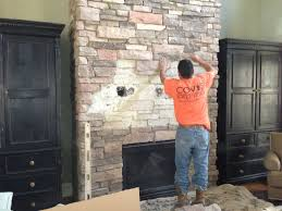 flat screen installation on a brick wall or fireplace neuwave