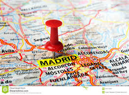 madrid spain map madrid spain map stock photo image 54711204