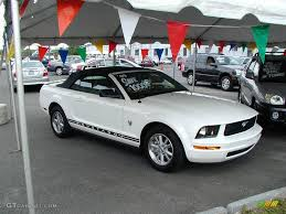 white 2009 mustang 2009 performance white ford mustang v6 premium convertible