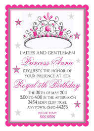 template elegant princess ariel birthday invitations with quote