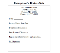 fake doctors note for work and u2014 download 30 templates now
