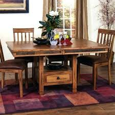 dining table with drawers foter dining table with drawers dining