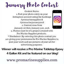 pro marine supplies table top epoxy have you entered the january instagram pro marine supplies