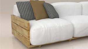 fabriquer canapé diy fabriquer un canapé d angle en palette original maison