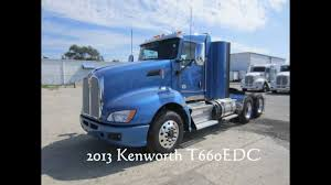 2014 kenworth 2013 kenworth t660 day cab for sale cummins power youtube