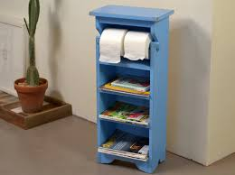 toilet paper shelf handmade bathroom storage tower shelves in color of your choice