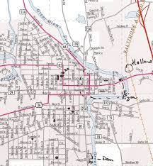 Map Of Ohio Cities by Piqua Christine M Grote