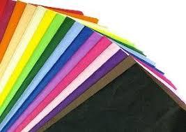 tissue paper gift wrap 10 x multi coloured tissue paper gift wrap wrapping paper