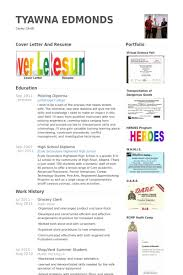 Sample Resume For Cashier Retail Stores by Grocery Clerk Resume Samples Visualcv Resume Samples Database