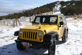 classic jeep wrangler old yellow mtnmad