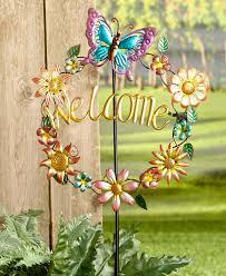 metal flower garden stakes garden stakes wholesale garden stakes wholesale suppliers and