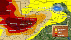 Map Dallas Fort Worth by Drought Worsens For Dallas Cbs Dallas Fort Worth