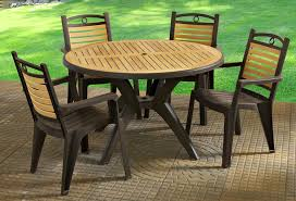 Patio Furniture Table Patio And Deck Furniture Grosfillex