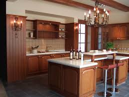 kitchen ideas cherry cabinets tile backsplash and cherry cabinet kitchen traditional with wood