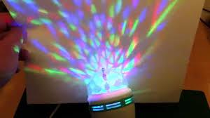 Disco Light Bulb Color Rotating Led Disco Party Bulb Youtube