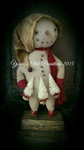 802 best christmas primitive snowmen images on pinterest