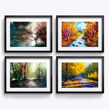 online get cheap mural painting wall aliexpress com alibaba group framed painting european landscape pictures wall decoration mural modern home decoration painting living room art wall