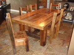 chunky wood table legs 6 table with 1 extension leaf on both ends this wood came from a
