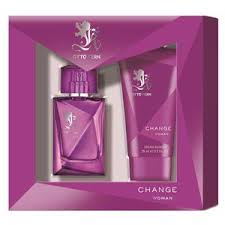 chagne gift set change woman gift set by otto kern parfumdreams