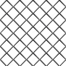 diamond shape seamless metal diamond shape grill isolated on white u2014 stock