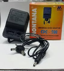 Montana Travel Adaptor images Jual adaptor universal ac dc adaptor montana sps 500 di lapak png