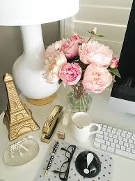 Desk Organization Accessories Feminine Desk Organization Ideas Gold Lipstick Nate Berkus And