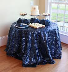 navy blue table linens wholesale 120 round 300cm navy blue sequin tablecloths wedding