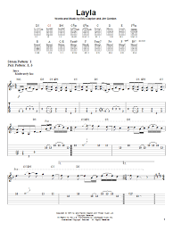 sultan of swing chords layla by eric clapton easy guitar tab guitar instructor