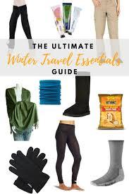 Delaware travel essentials images Ulimate winter travel essentials guide grrrl traveler png
