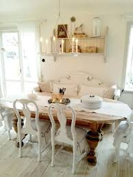 shabby chic dining table decor shabby chic dining table chairs and