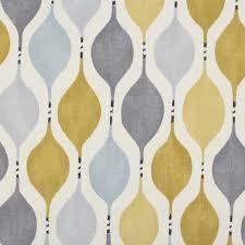 Retro Upholstery Hour Glass Retro Cotton Panama Print Curtain Blinds Cushion