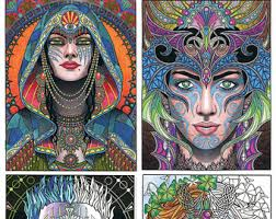 colouring book etsy