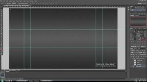 layout banner template new youtube channel design banner layout psd template 2013 png