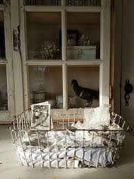 Shabby Chic Wire Baskets by 173 Best Cestos Canastos Images On Pinterest Basket Fabric