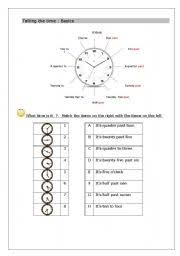 english teaching worksheets the clock